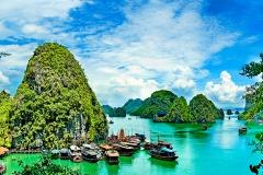 ベトナム 世界遺産ハロン湾